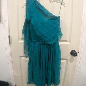 Halston Heritage Strapless Flare Dress *RARE*